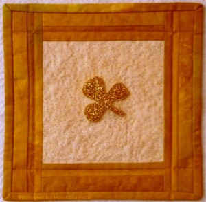 The little Shamrock Quilt